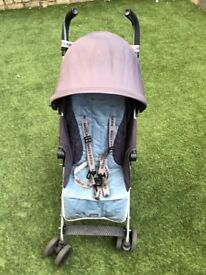Maclaren Quest Buggy with rain cover, charcoal, good condition