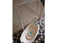 Free baby bath with stand