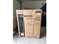 New Kenwood silver freestanding dishwasher