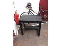 small chalkboard black ikea desk