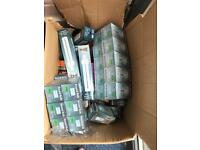 Box assorted light bulbs
