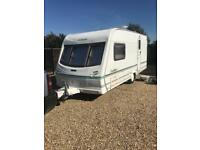 Lunar clubman with 2 awnings and motor mover