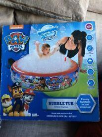 Paw patrol bubble pool