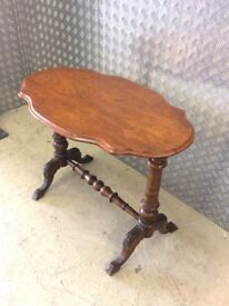 STOCK CLEARANCE - ANTIQUE VICTORIAN MAHOGANY SIDE TABLE C.1890