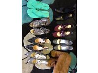 JOB LOT. Variety of womens shoes. Size 5