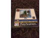 PlayStation 1 boxed croc game ps1