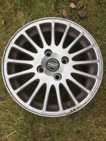 Alloy Wheel 4 stud 17 spoke 4x114.3