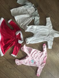 Baby girl Xmas 0-3 months