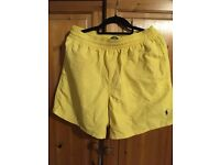 Shorts Ralph Lauren, Yellow Size L