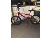 Vibe Scar 20 Inch BMX Bike - Brand New