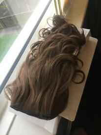 Megan McKenna's hair extensions