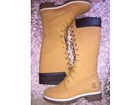 Long timberland boots
