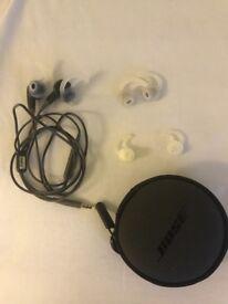 Nose in ear headphones