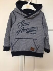 Boys hooded top 18-24 Months (Mothercare)