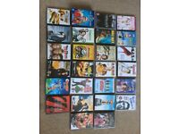Collection of Various DVDs for sale.