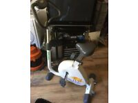 TUNTURI F300 EXERCISE BIKE WITH EAR PULSE MONITOR