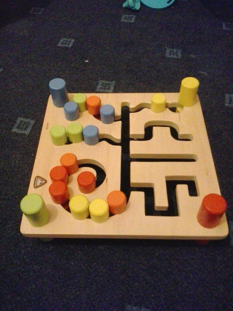 wooden kids maze