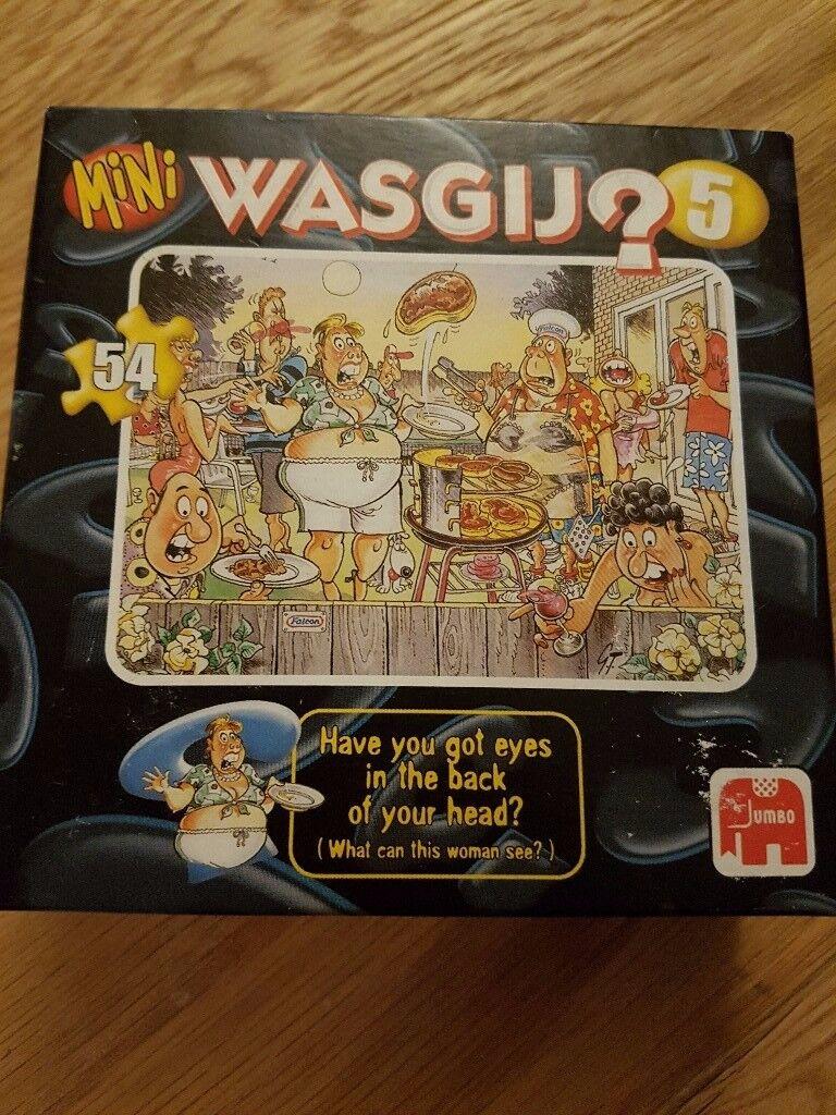 2 Mini Wasgij, Jigsaw Puzzles– Pristine condition