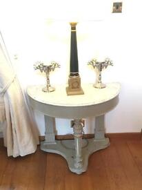 Victorian marble topped washstand
