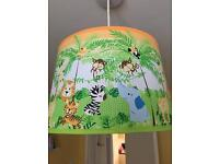 Light shade lamp shade toy storage