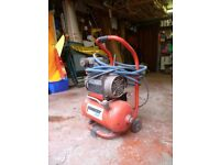Pioneer air Compressor mounter on small trolley (Mains operated)