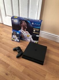 Fully Working Used PS4 Slim Boxed with Fifa 18