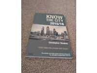 Know the city by Christopher Stoakes; Investment Banking Manual