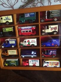 Display Cabinet with toy cars