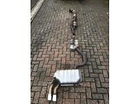 Audi s3 8p 2010 5dr Genuine Full Exhaust System *Good Condition*