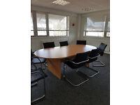Boardroom Table Office Desks Tables For Sale Gumtree - Large boardroom table for sale