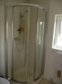 shower enclosure,sliding doors ,base,
