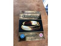 Lord of the Rings: Extended Editions - Blu Ray