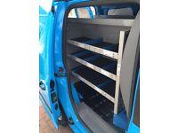 Volkswagen Caddy British Gas racking for van