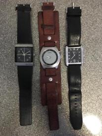 Watches x3
