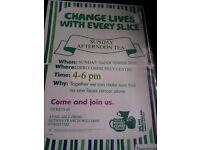 Macmillan Charity Afternoon Tea