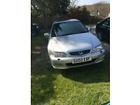Honda Accord 2litre petrol