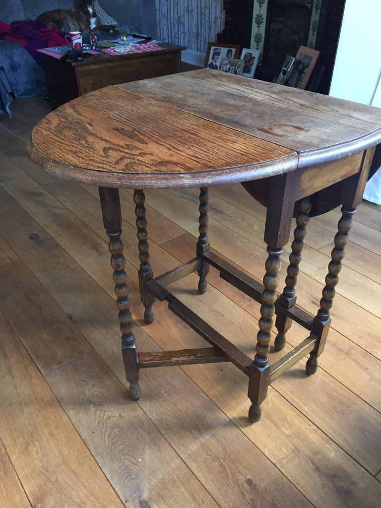 Wooden antique table