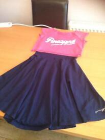 Girls Dance Pineapple Dress Set