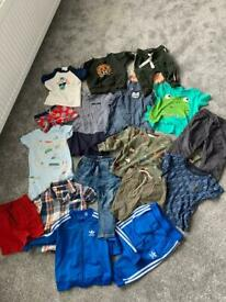 17 items - 9-12 months boys clothes bundle