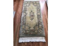 Chinese wool rug used