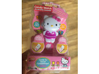 Brand New Hello Kitty digital candy watch