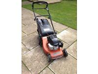 Mountfield lawn mower honda engine