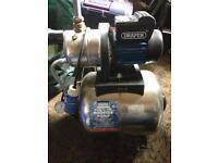 Draper booster pump