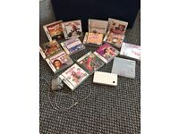 Nintendo dsi and 14 games