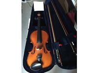 Violin Full Size/ spare E String/ music books