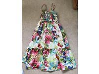 Ladies summer dress floral design