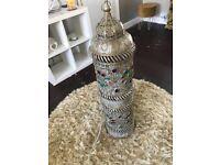 Floor Lamp gold/multicoloured jewels (Range)