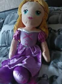Large Rapunzel plush
