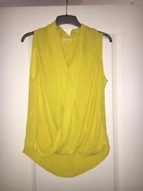 Yellow River Island blouse