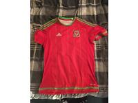 Wales home shirt 2014